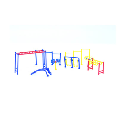 Miniature Fitness Equipment 1set- (3 CM)