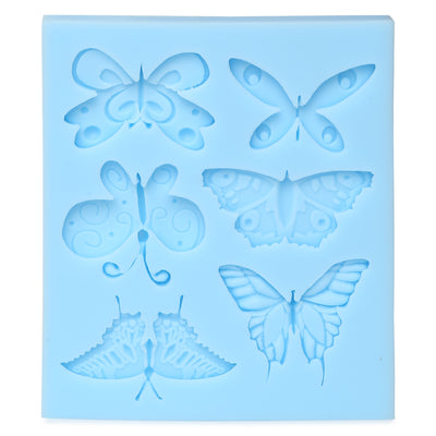 Silicon Mould - Butterfly Garden