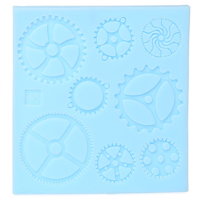 Silicon Mould - Cogs and Gears