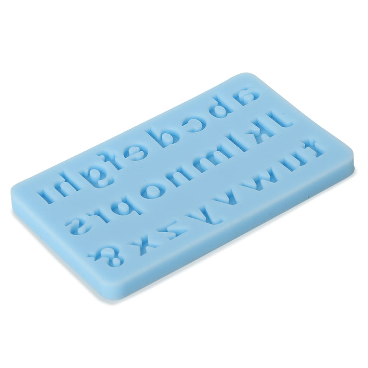 Silicon Mould - Lowercase Alphabets