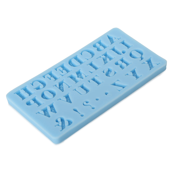 Silicon Mould - Uppercase Alphabets