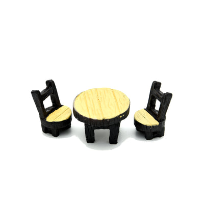Miniatures Table Chair Set- 1pack