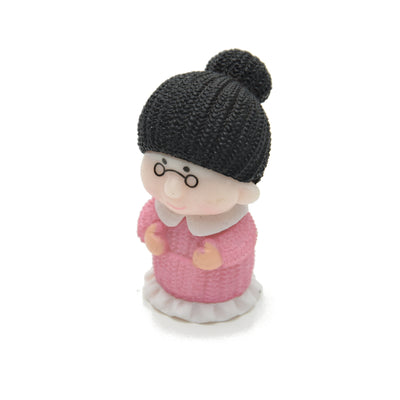 Miniatures Old Lady- 1pc