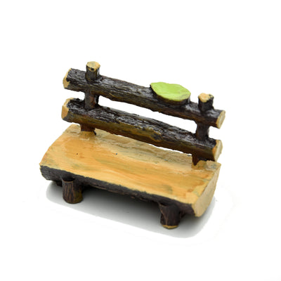 Miniatures Wooden Bench- 1pc