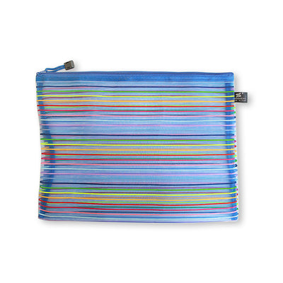 Net Zip Pouch -Assorted Colours