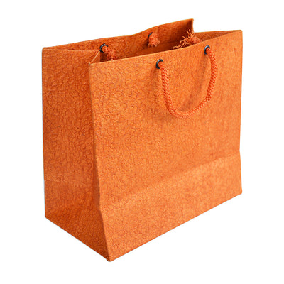 Textured Paper Bag -Small, Assorted Colour