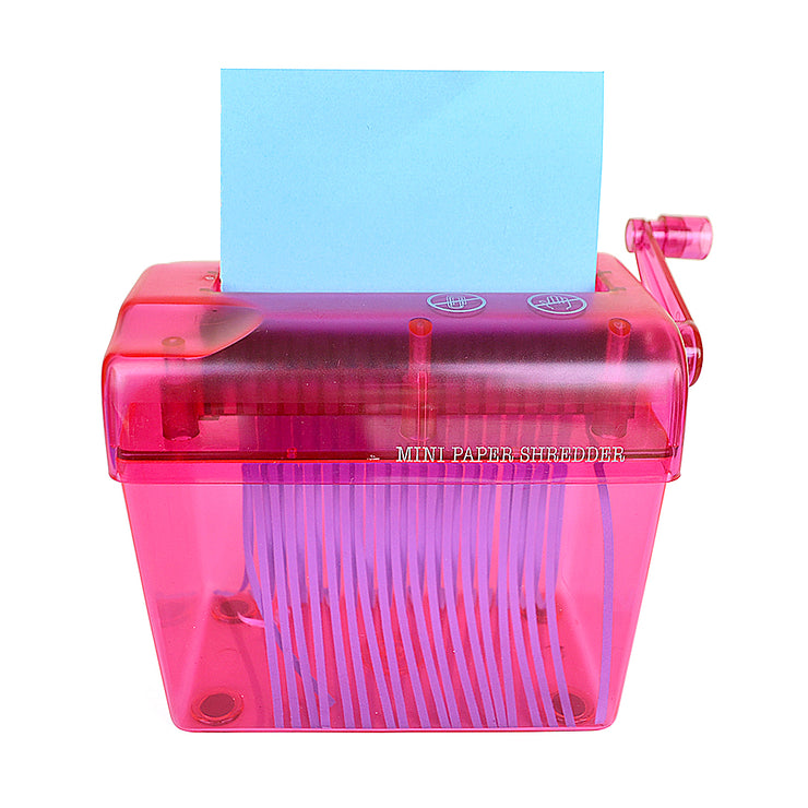 Mini Paper Shredder