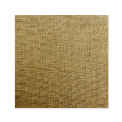 Plain Burlap 12X12 - Natural