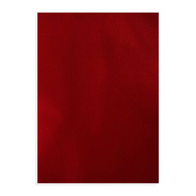 Premium Soft Felt Sheet A4 size - Crimson Red