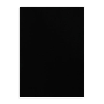 Premium Soft Felt Sheet A4 size - Black