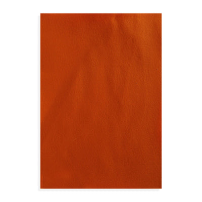 Premium Soft Felt Sheet A4 size - Orange