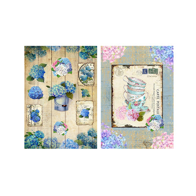 Decoupage Paper A4size, 4sheets - Post Perfect