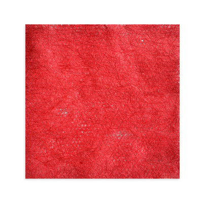 Thai Natural Fibre Paper 12X12 inch - Red