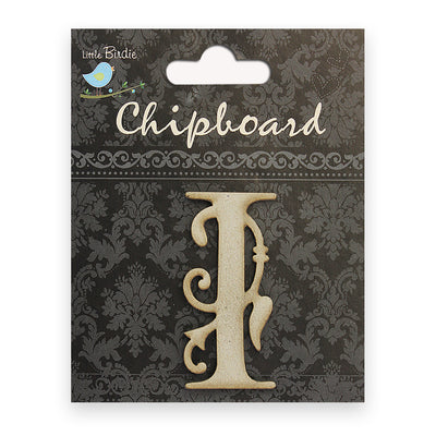Ornate Chipboard Alphabet- I