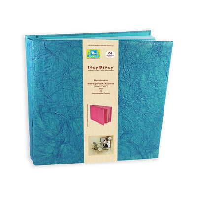Scrapbook Album 12X12 Inch , 24 sheets - Blue