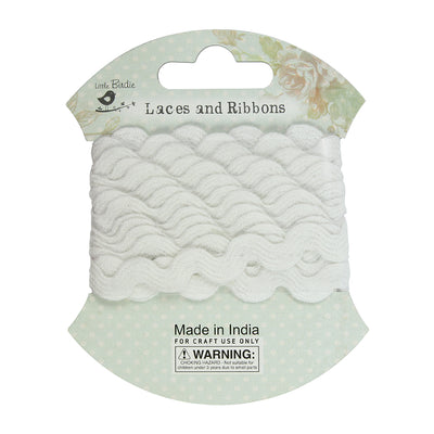 Crochet Lace - 9mm, 2m, White