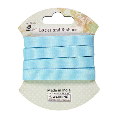 Grosgrain Ribbon 10mm- Light Blue