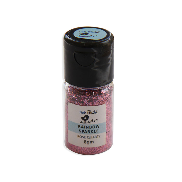 Rainbow Sparkle 8Gm - Rose Quartz