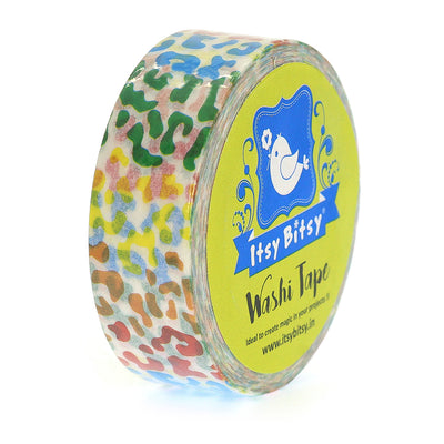 Washi Tape Colour Play- 15mmx10mtr