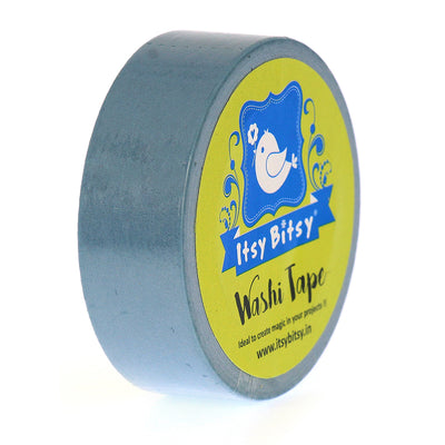 Washi Tape Rivulet Blue- 15mmx10mtr