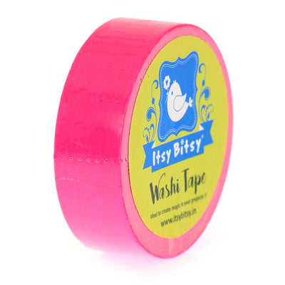 Washi Tape Pretty Pink- 15mmx10mtr