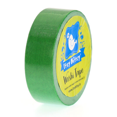 Washi Tape Spring Green- 15mmx10mtr