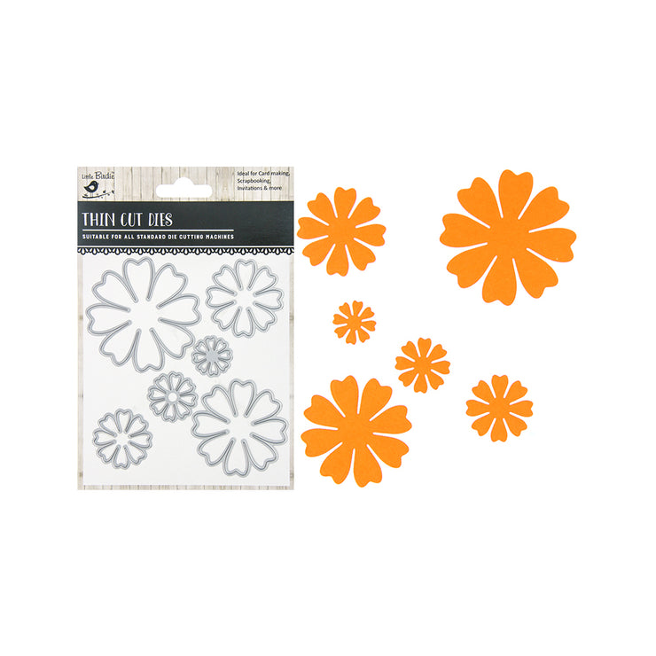 Thin Cut Dies - Florabelle, 6pc