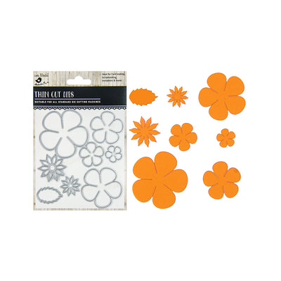 Thin Cut Dies - Florentia, 8pc