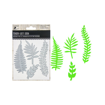 Thin Cut Dies - Fern Forest, 4pc