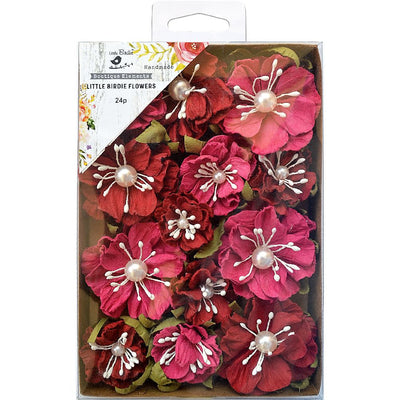 Handmade Flowers Margery- Candy Mix, 24pcs
