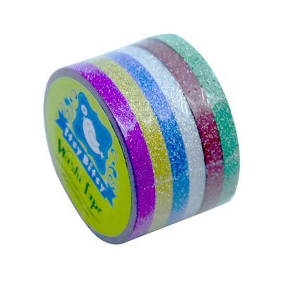 Washi Tape - Jolly Stripes 5mm, 6pc