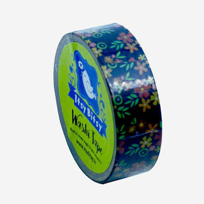 Washi Tape - Golden Flora, 15mmx10m 1pc