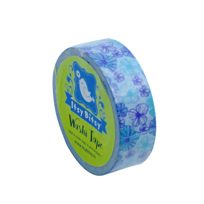 Washi Tape - Cornflower, 15mmx10m 1pc