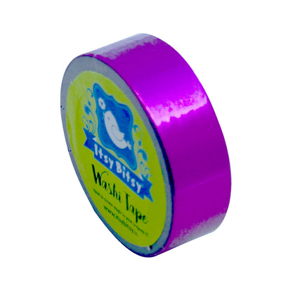 Washi Tape - Purple Punch, 15mmx10m 1pc