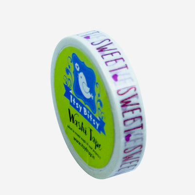 Washi Tape - Sweet Love, 10mmx5m, 1pc