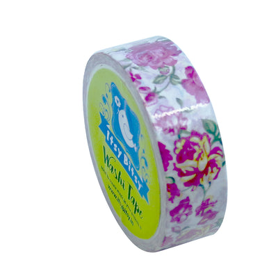 Washi Tape - Rose Charm, 15mmx5m, 1pc