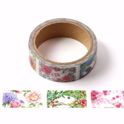 Washi Tape- Blooming View, 15mm x 5mtr