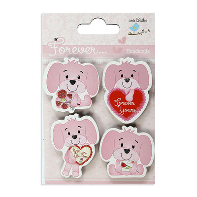 Handmade Mini Embellishment- Puppy Love