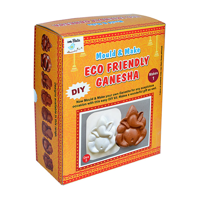 Mould & Make Eco Friendly Ganesha Des-5