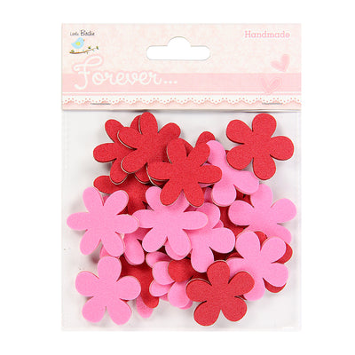 Foam Daisies- Pink And Red