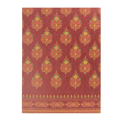 Traditional Blank Card - Barmer, 1pc