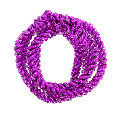 Christmas Decoration Tinsel Rope- Pink 2M