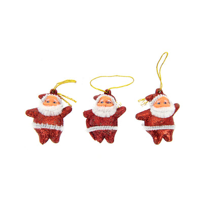 Santa Claus Hanging -3Pc