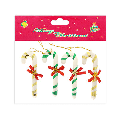 Christmas Decorative Hanging 4Pc- Candy Cane