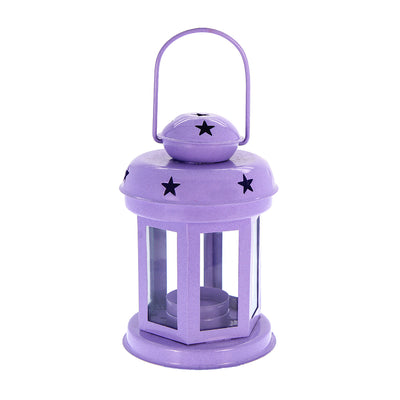 Diwali Metal Lantern -Purple