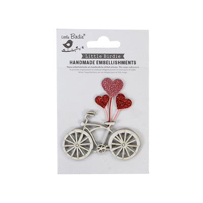 Mini Embellishment Romantic Ride, 1Pc