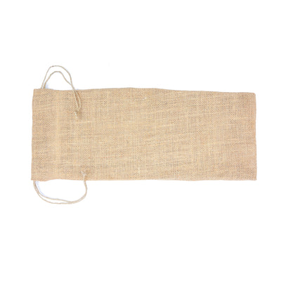 Burlap Wine Bag - 6X15In (Approx) Natural, 1 Pc