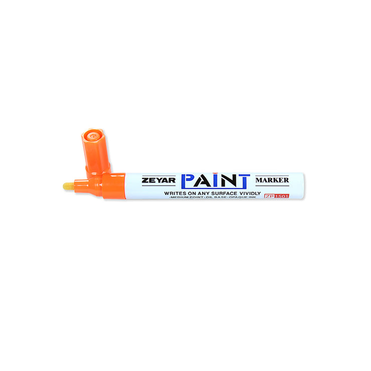 White Board Marker - Flat, 3mm Tip, Orange