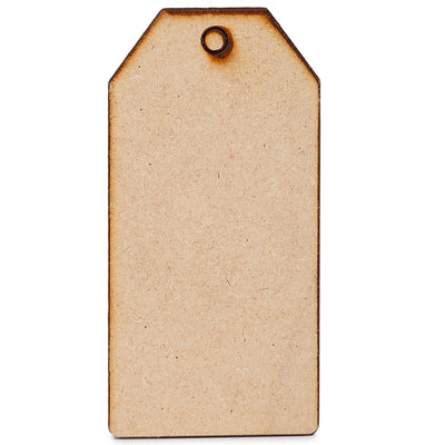 Wooden Tags- 9X4.4cm, 5pc