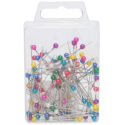 Head Pins Asst Colours- 3.5cm, 100pc